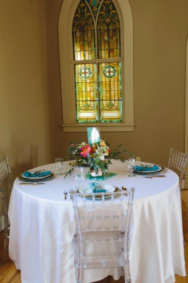 Colorful Mosaic Inspired Idaho Wedding Ideas via TheELD.com
