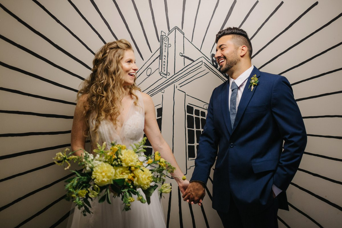 Organic Yellow Wedding Ideas At Haus820 via TheELD.com