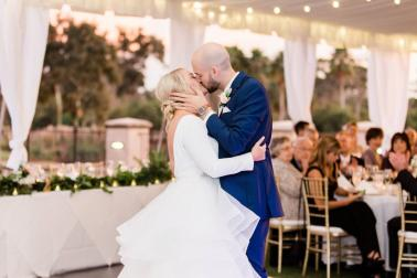 An Elegant Tented Wedding At TPC Sawgrass via TheELD.com
