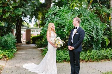 An Elegant Floral Filled Florida Wedding via TheELD.com