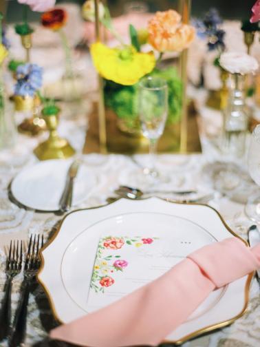 An Elegant Floral Filled Florida Wedding via TheELD.com