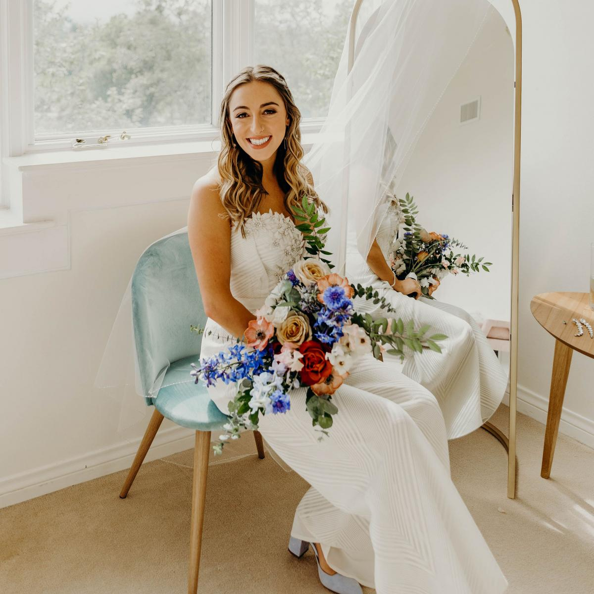 Classic Blue Bridal Inspiration, Pantone of 2020