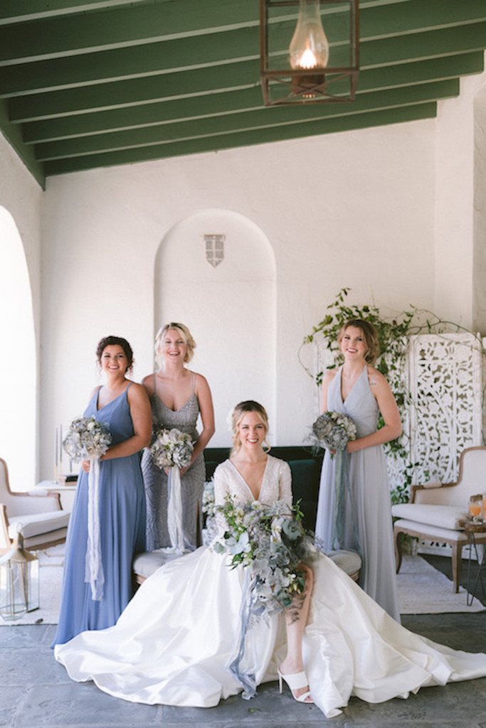 Pantone 202 Classic Blue for Bridal Party
