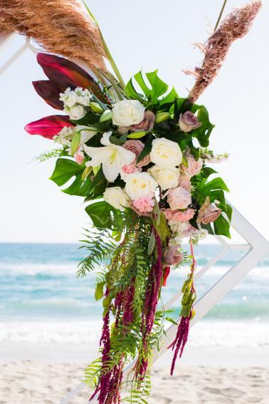 Intimate Oceanside Long Beach Wedding via TheELD.com