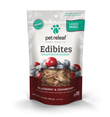 Elixinol Pet Releaf Edibites product image (1800mg)