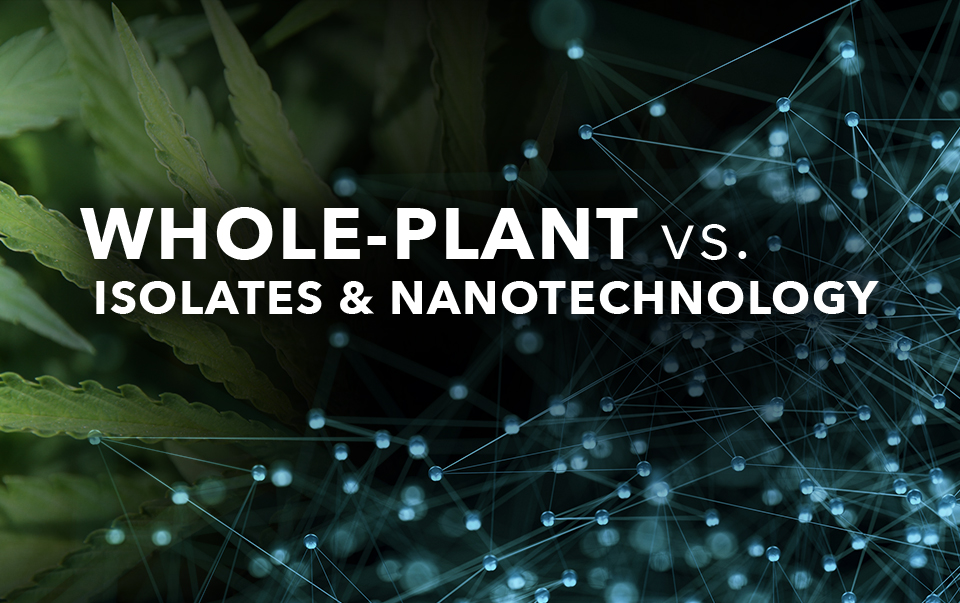 Whole Plant vs. Isolates & Nanotechnology