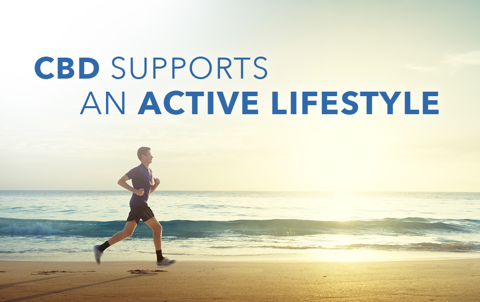 CBD Supports An Active Lifestyle