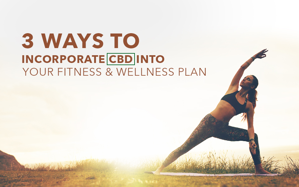 3 Ways To Incorporate CBD Into Your Fitness & Wellness Plan