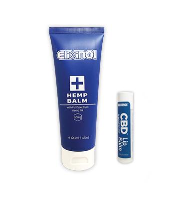 Elixinol Hemp Balm and Lip Balm product image