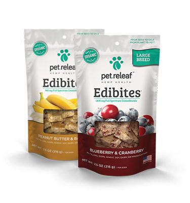 Elixinol Pet Releaf Edibites product image