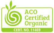 ACO certified organic label/logo