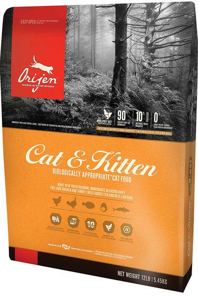 Cat & Kitten Orijen gato 5,45Kg