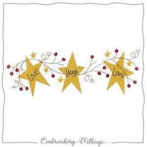 1002-stars-grapevine-applique-fabric