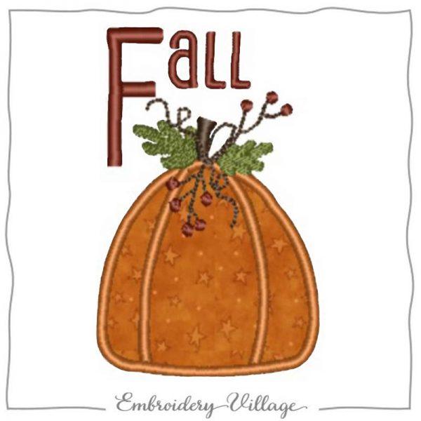 1001-pumpkin-applique-embroidery-village
