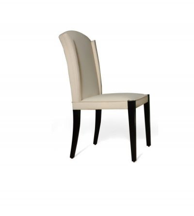 Angel dining chair side