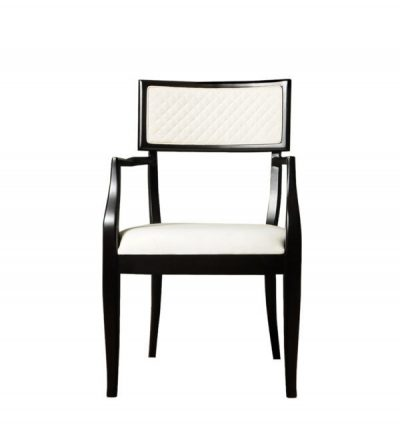 Colton Upholestered Dining Room Chair With Arms