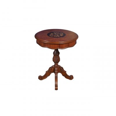 marquetry-top-side-table