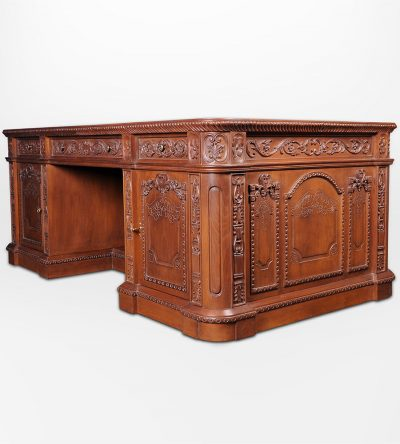 english-presidential-desk-antique-hand-carved-wood