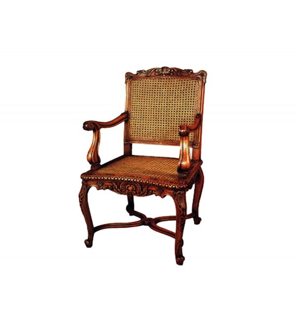 french-rattan-arm-chair