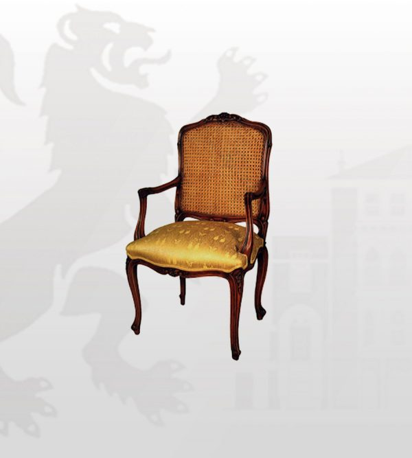 country-french-style-arm-chair-logo