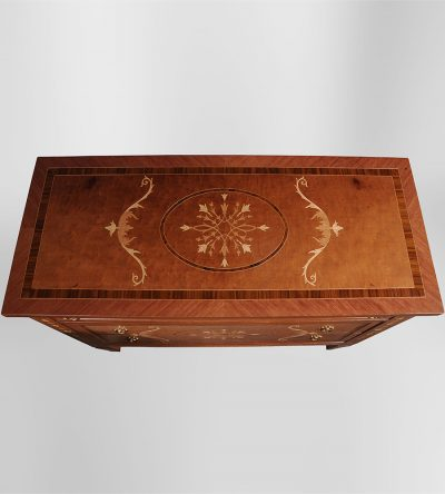 french-marquetry-chest-sideboard-top-view