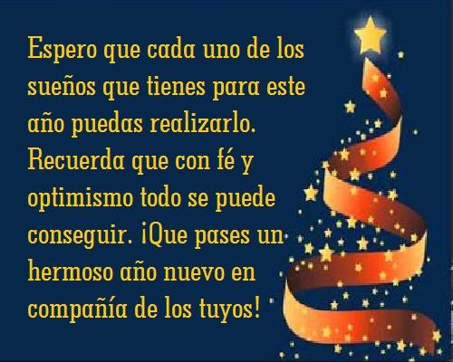 En Navidad Y Año Nuevo Las Hermosas Frases Y Los Buenos