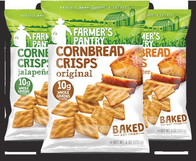 hungry for Cornbread Crisps