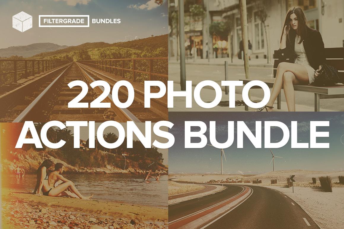 FilterGrade Photoshop Actions Bundle