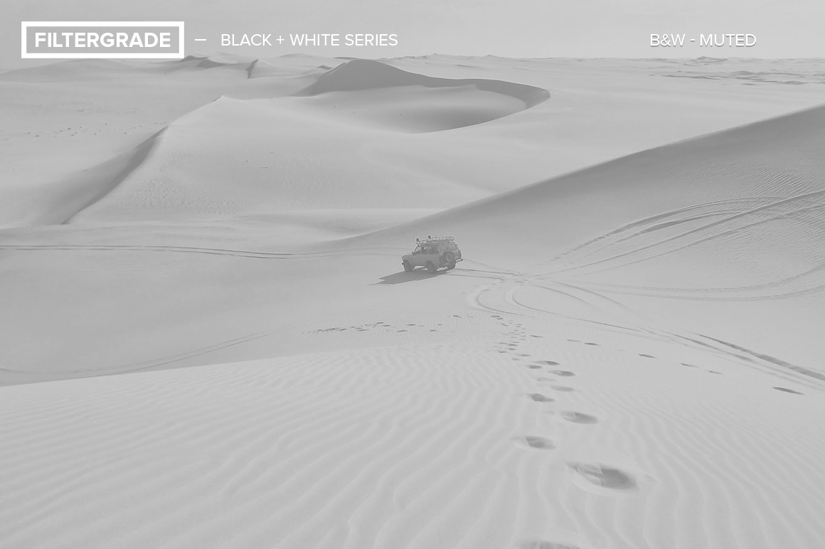 how to put a black and white filter on photoshop