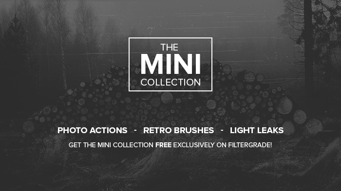 Free Photoshop Actions Mini Collection from FilterGrade