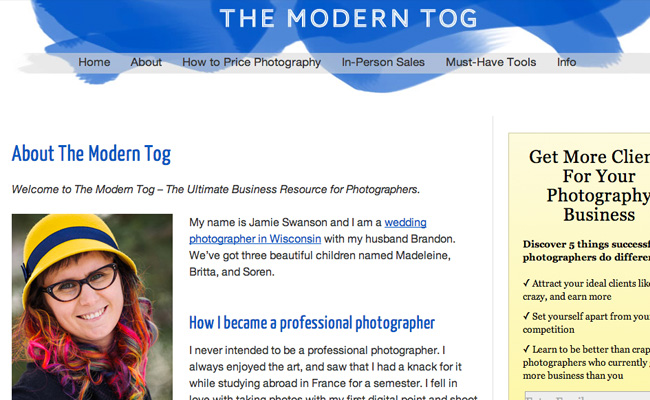 Ways to Market a Photography Business