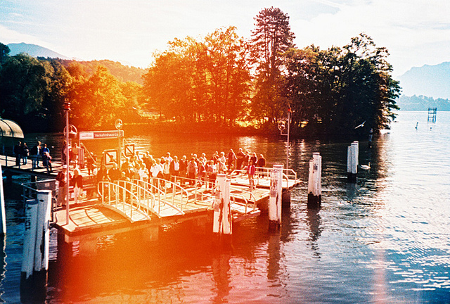 light leaks at a dock