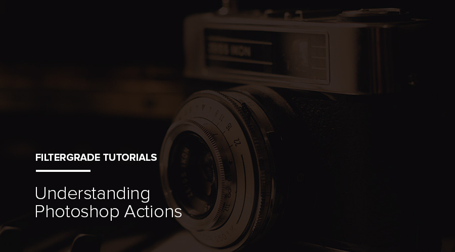 Understanding Photoshop Actions