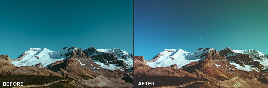free photoshop actions 3 from FilterGrade
