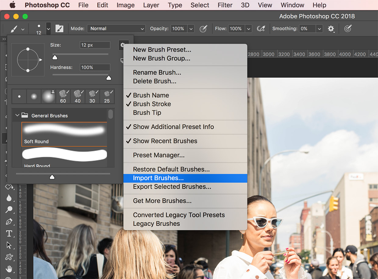 How to install Brushes in Adobe Photoshop CS3]