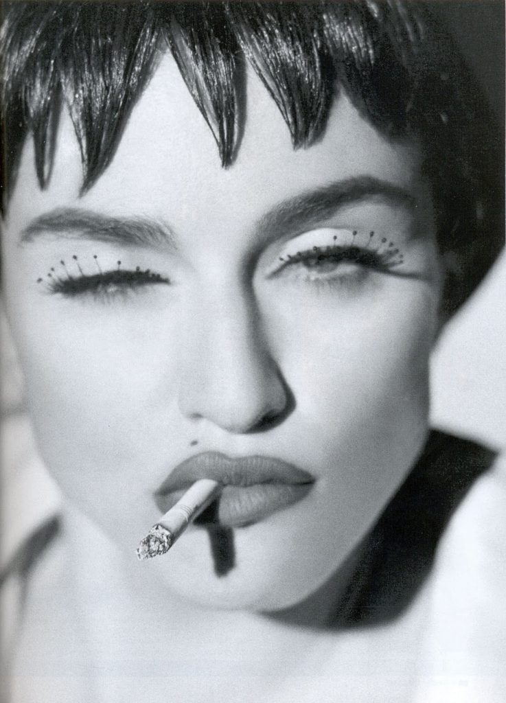 Madonna Portrait by Herb Ritts