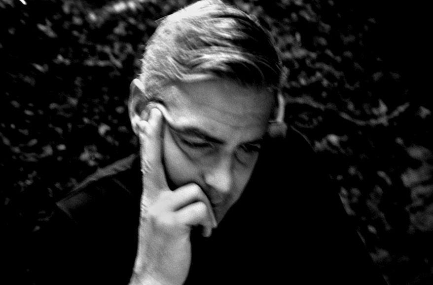 George Clooney Portrait by Antonin Kratochvil
