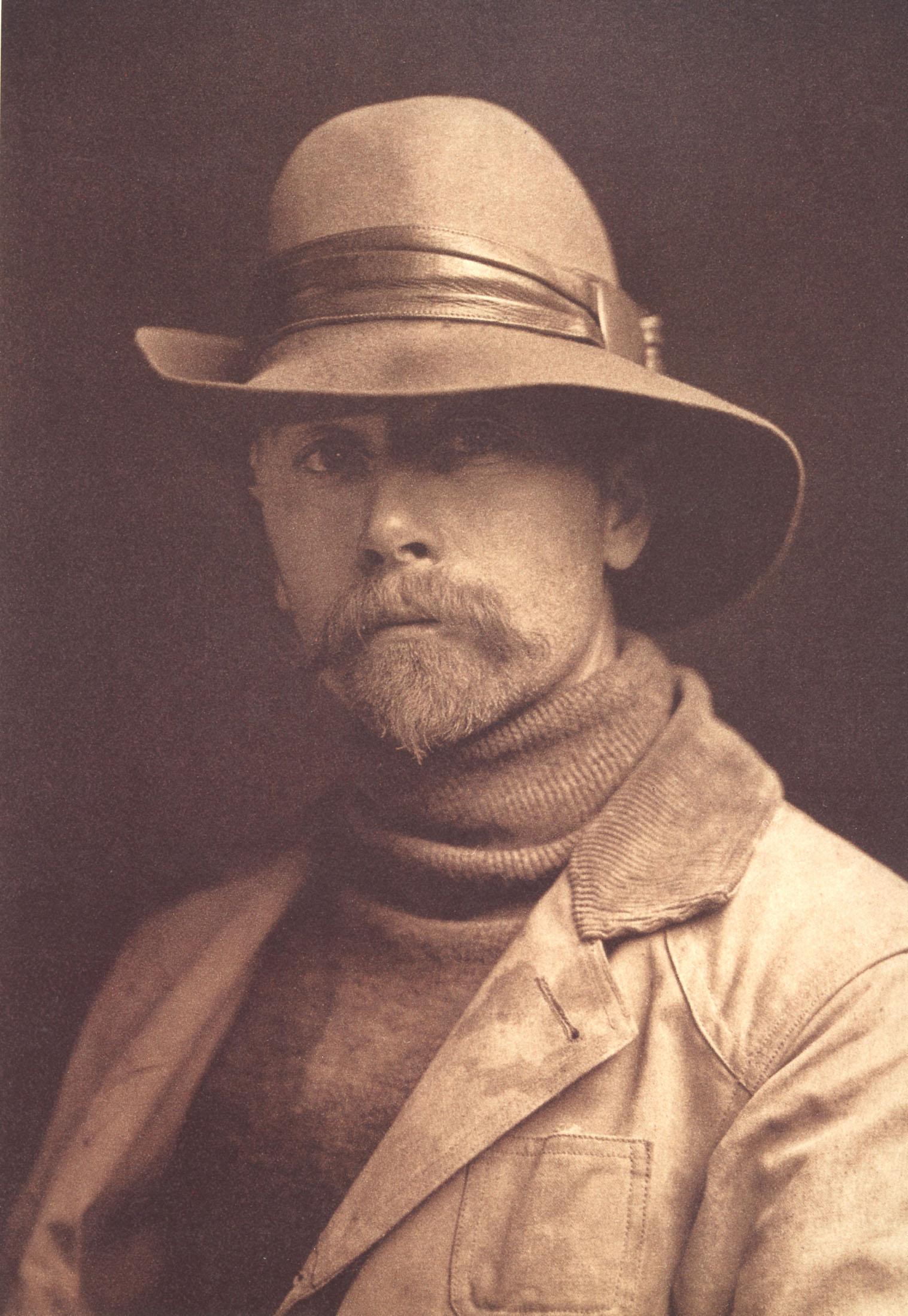 Portrait Photographer Edward S. Curtis