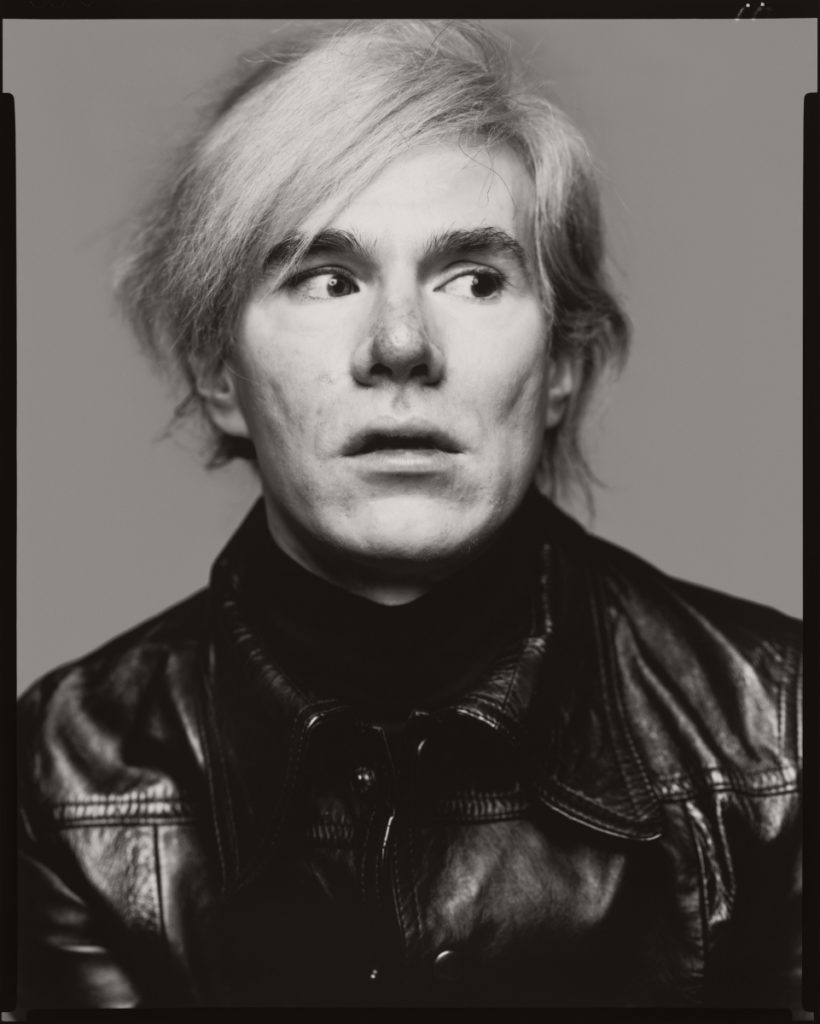 andy warhol portrait by Richard Avedon