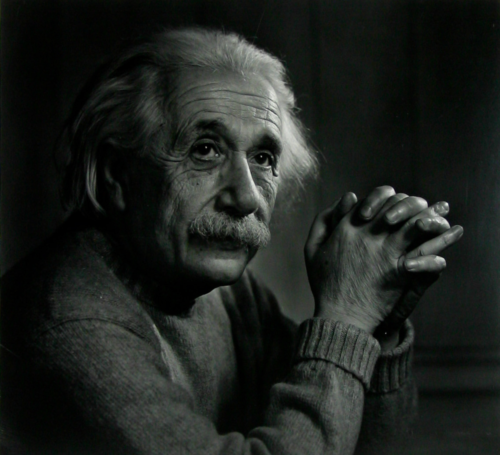 Albert Einstein Portrait by Yousuf Karsh