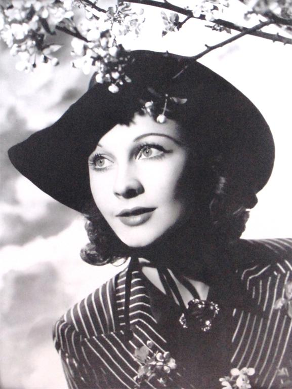 Angus Bean Portrait of Vivien Leigh