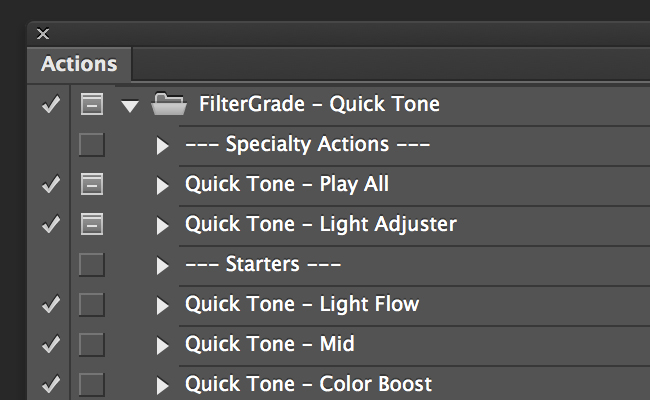 Quick Tone Features
