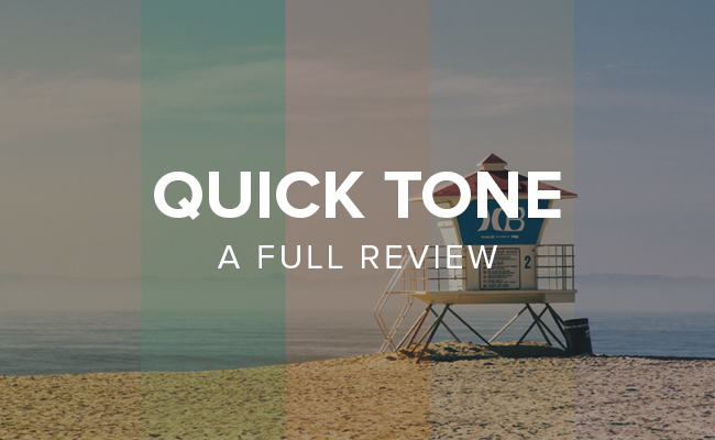 FilterGrade QuickTone Photoshop Actions Review