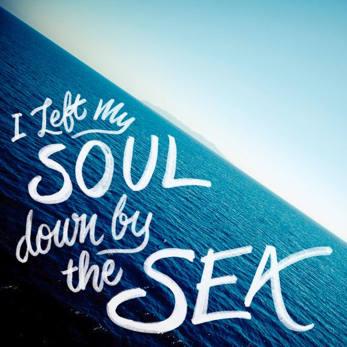 Sea Hand Lettering