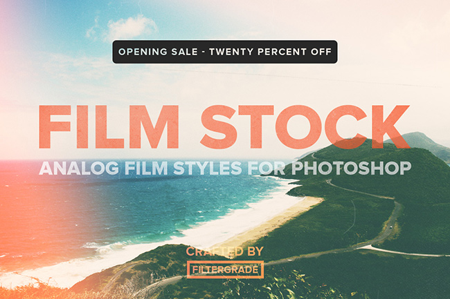 filtergrade filmstock photoshop actions review