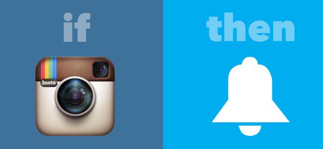 IFTTT Notification from Instagram