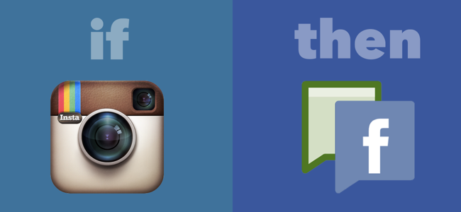 Upload photos from Instagram to Facebook Fan Pages with IFTTT