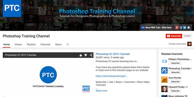 Photoshop-Training-Channel