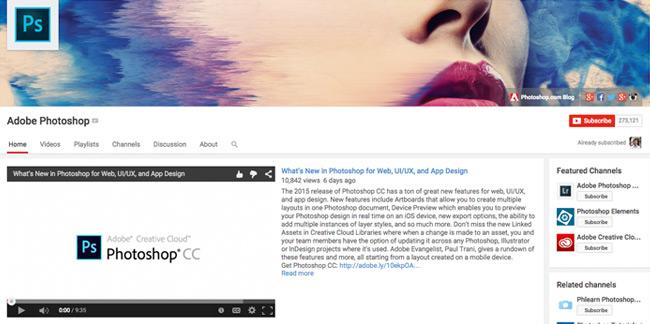 Adobe-Photoshop-Youtube