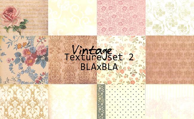 vintage texture set